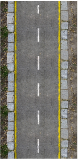 Final image road texture with markings