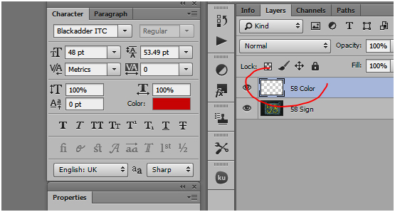 insert new layer in photoshop