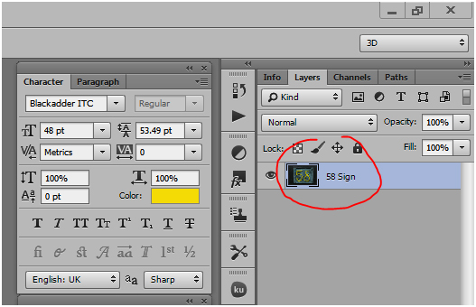 rename the layer in photoshop tutorial