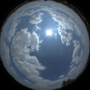 sky fisheye