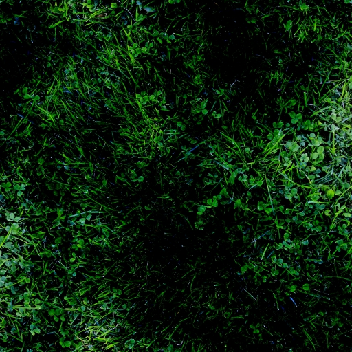 burnt grass with plasma filter in gimp