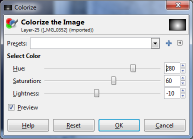 colorize stock phot into bright background image
