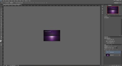 watermark characteristics transparency shadows photoshop tutorial