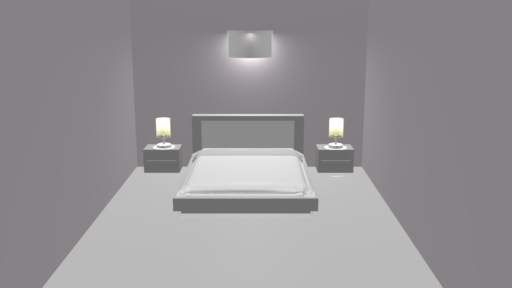 Untextured room model