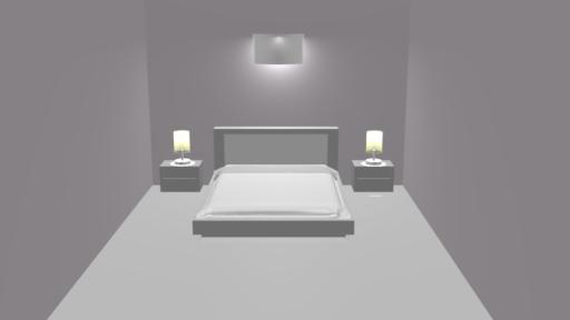 Untextured room model